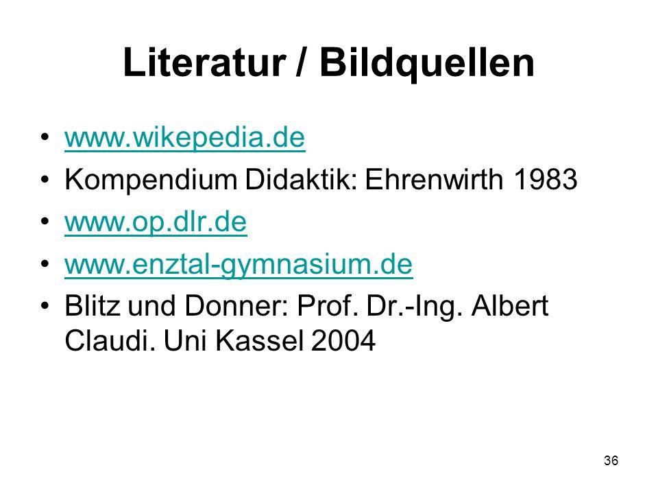 Literatur / Bildquellen