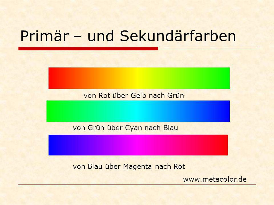 Primär – und Sekundärfarben