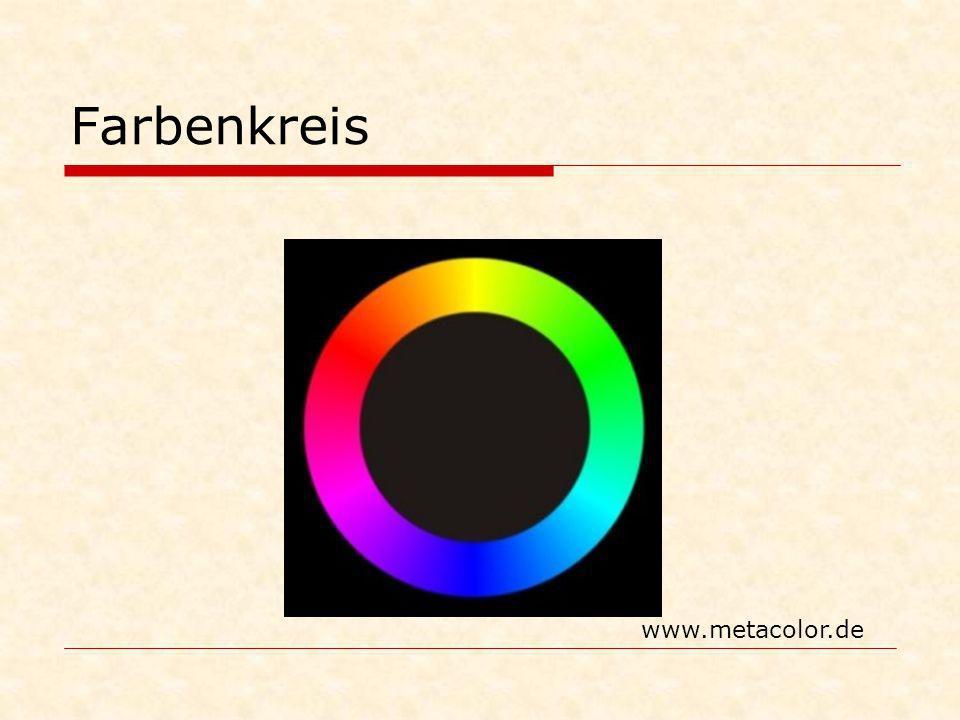 Farbenkreis www.metacolor.de