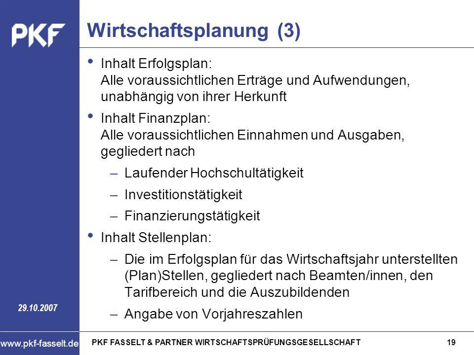 Wirtschaftsplanung (3)