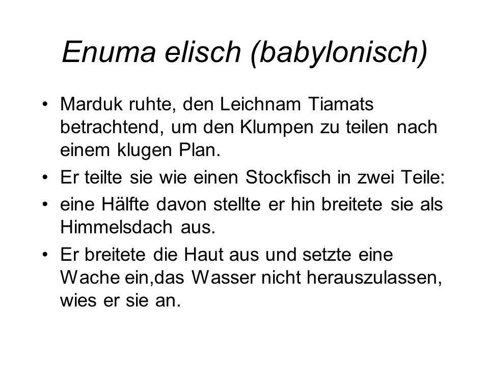 Enuma elisch (babylonisch)