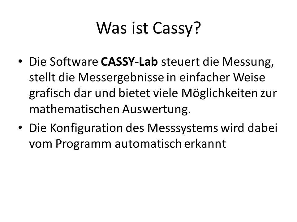 Was ist Cassy