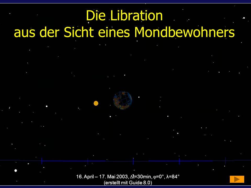 Die Libration aus der Sicht eines Mondbewohners