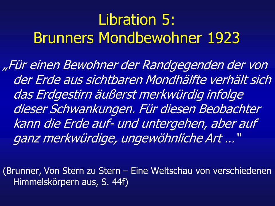 Libration 5: Brunners Mondbewohner 1923