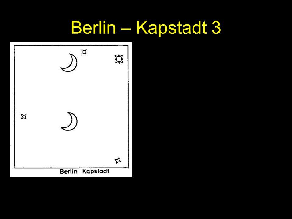 Berlin – Kapstadt 3