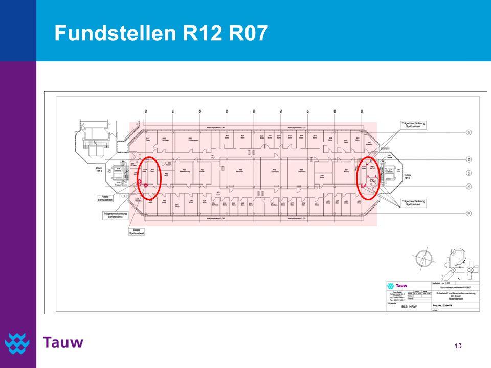 Fundstellen R12 R07