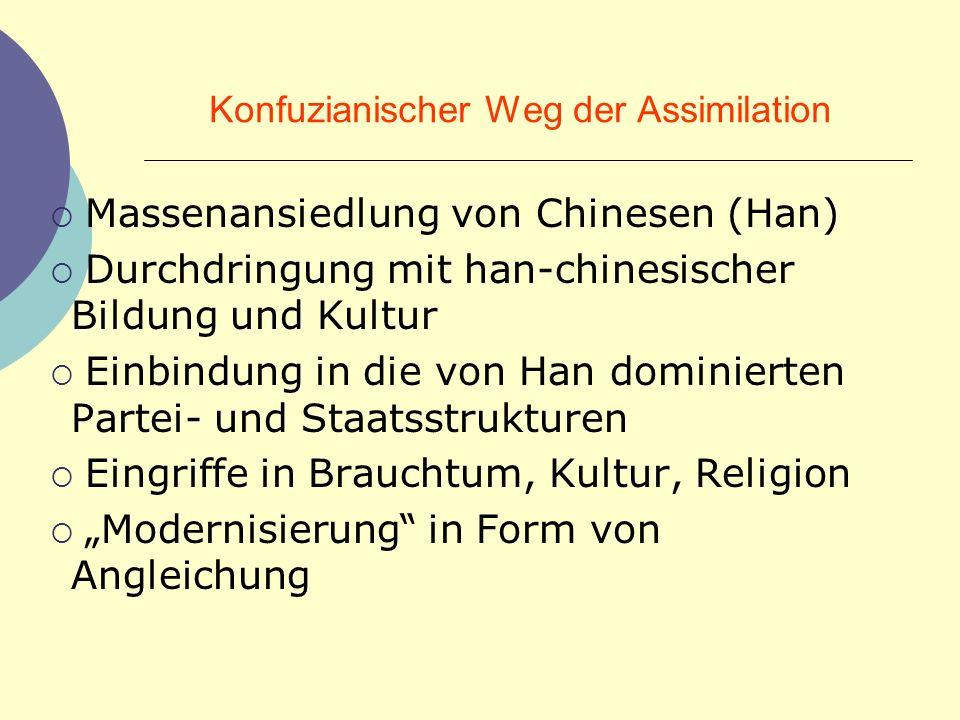 Konfuzianischer Weg der Assimilation