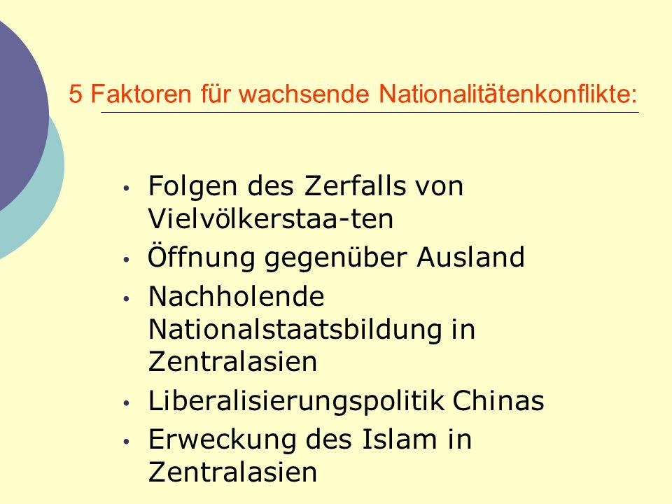 5 Faktoren für wachsende Nationalitätenkonflikte: