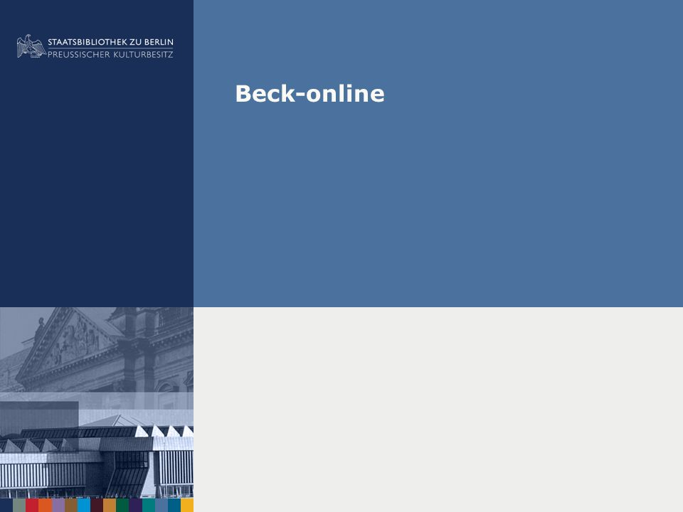 Beck-online