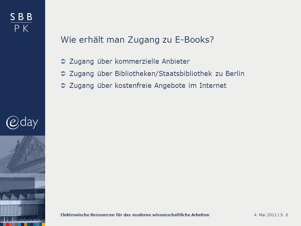 Wie erhält man Zugang zu E-Books