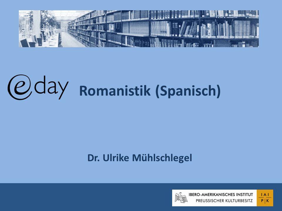 Romanistik (Spanisch)