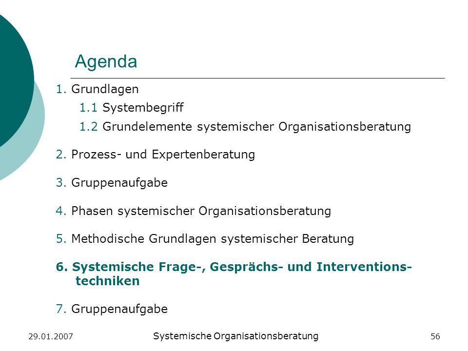 Systemische Organisationsberatung