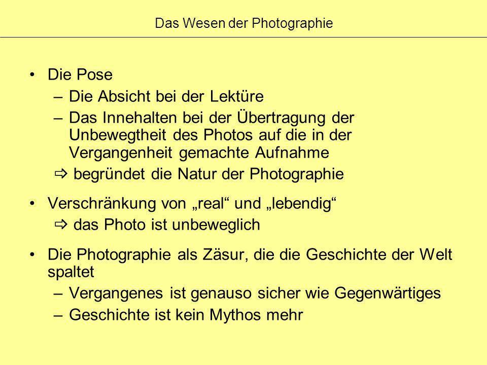 Das Wesen der Photographie
