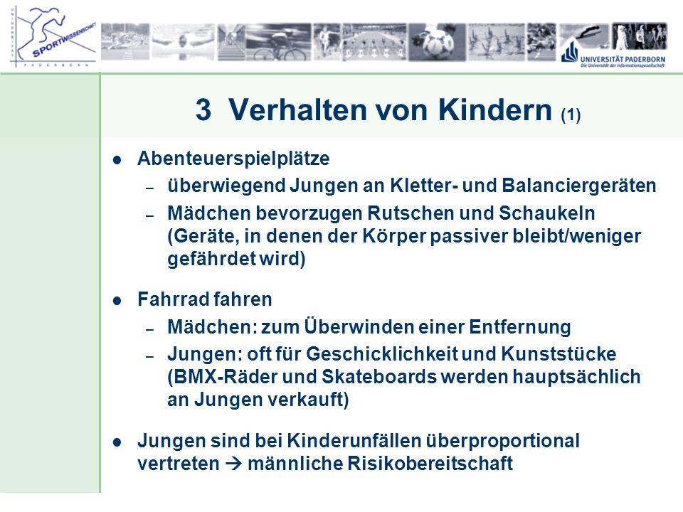 3 Verhalten von Kindern (1)