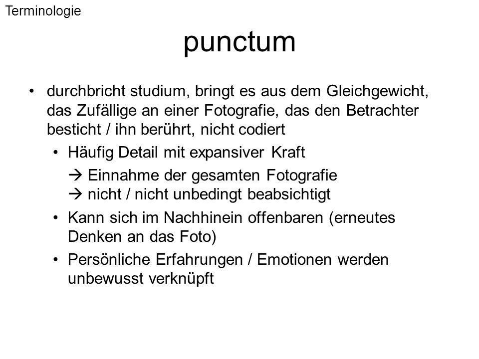 Terminologie punctum.