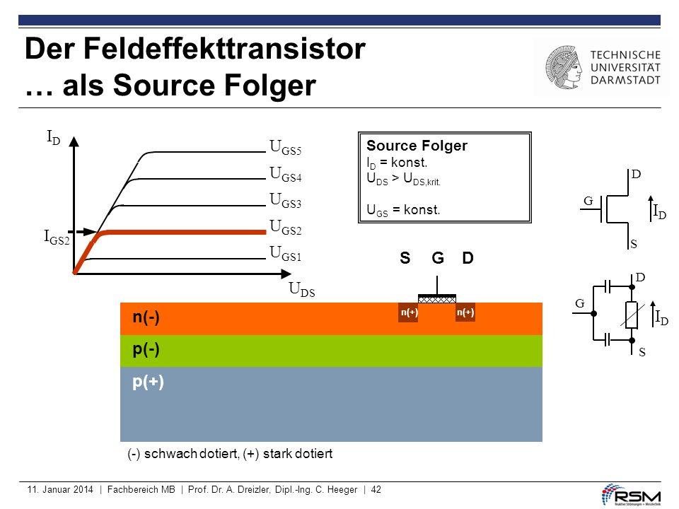 Der Feldeffekttransistor … als Source Folger