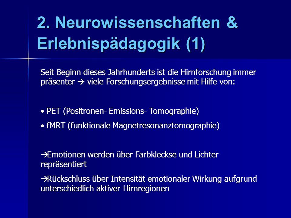 2. Neurowissenschaften & Erlebnispädagogik (1)