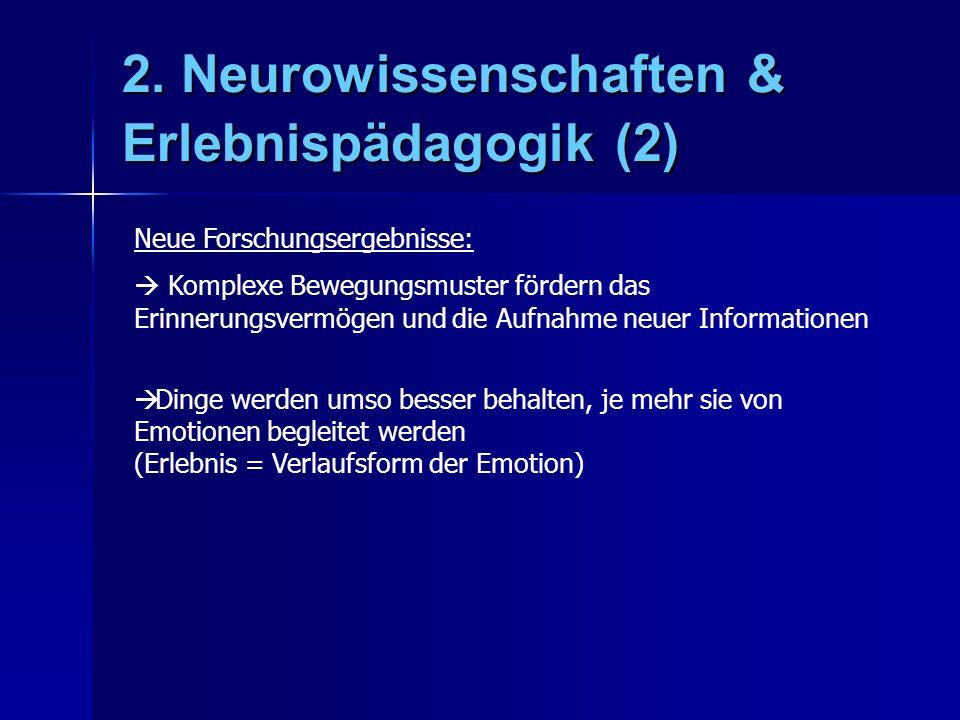 2. Neurowissenschaften & Erlebnispädagogik (2)