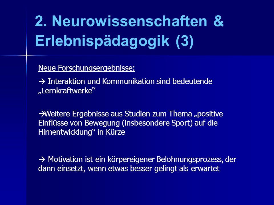 2. Neurowissenschaften & Erlebnispädagogik (3)