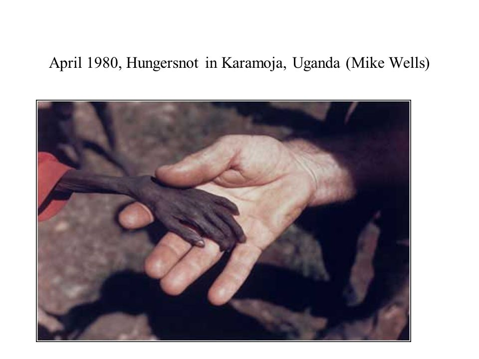 April 1980, Hungersnot in Karamoja, Uganda (Mike Wells)