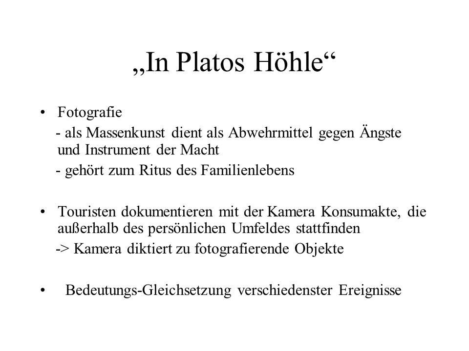 """In Platos Höhle Fotografie"