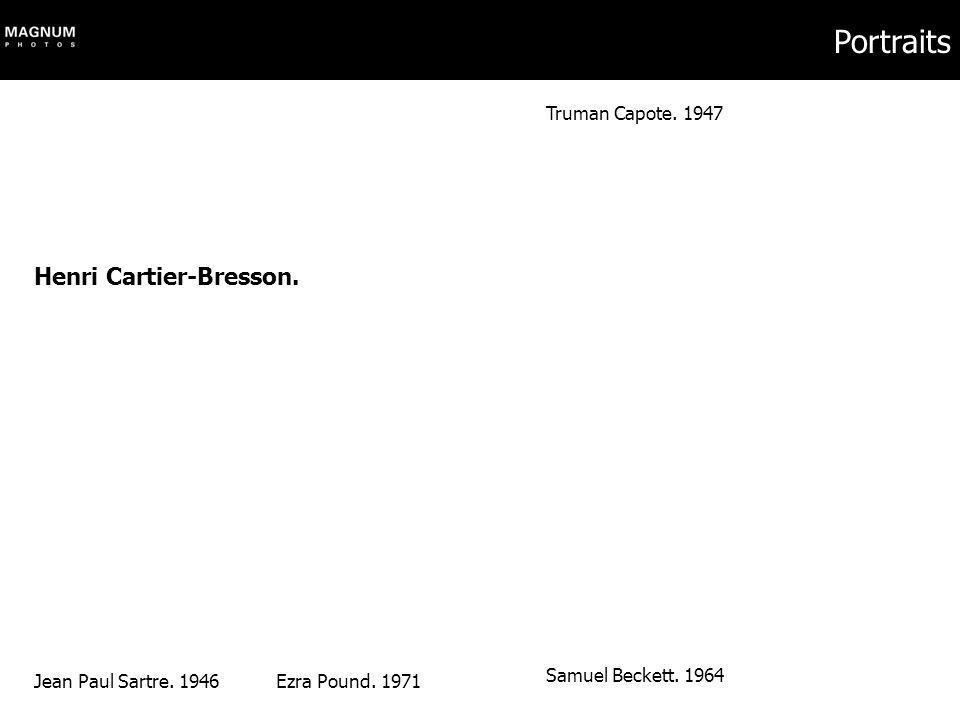 Portraits Henri Cartier-Bresson. Truman Capote. 1947