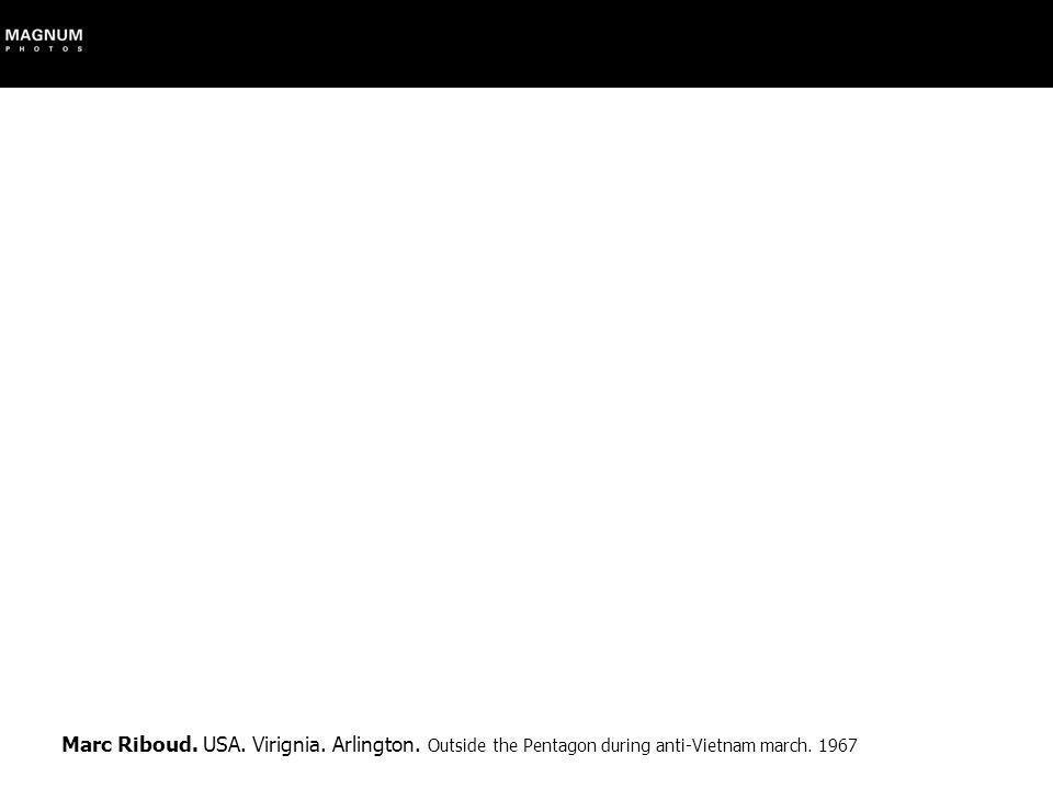 Marc Riboud. USA. Virignia. Arlington