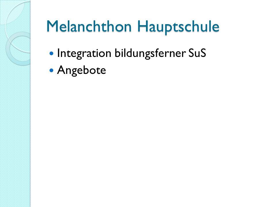 Melanchthon Hauptschule