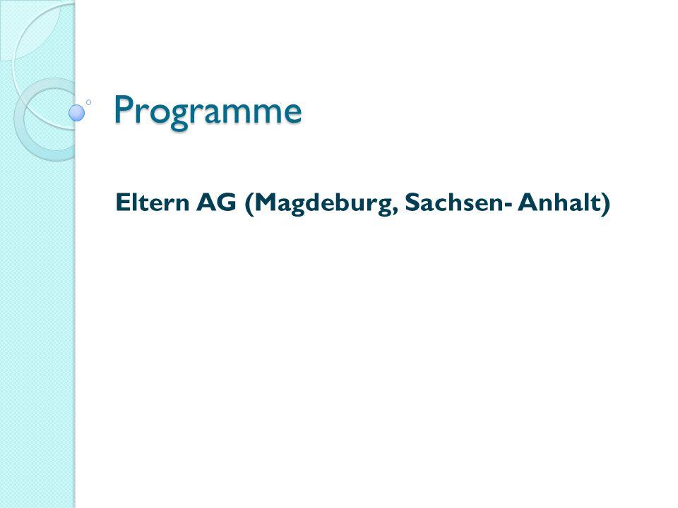 Eltern AG (Magdeburg, Sachsen- Anhalt)