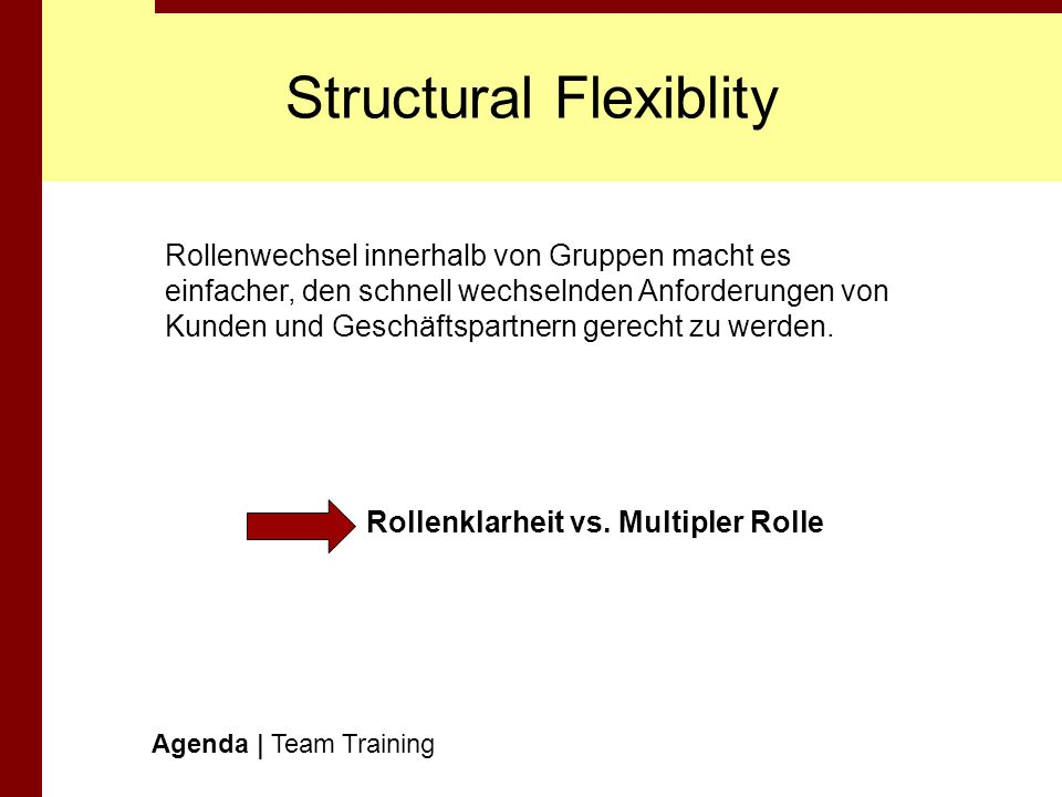 Structural Flexiblity