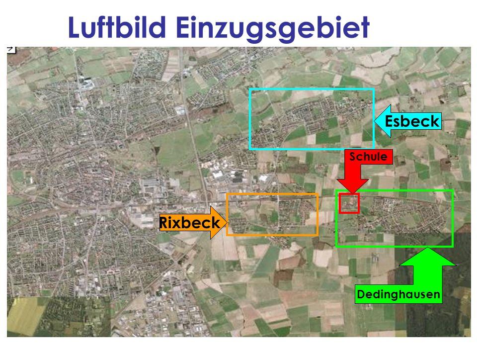 Luftbild Einzugsgebiet