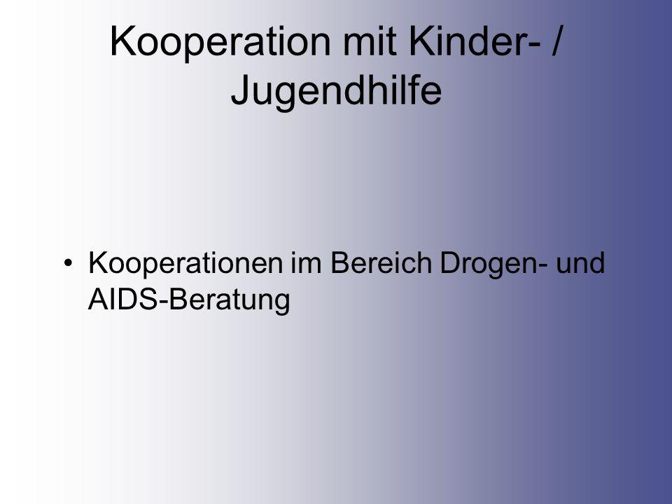 Kooperation mit Kinder- / Jugendhilfe