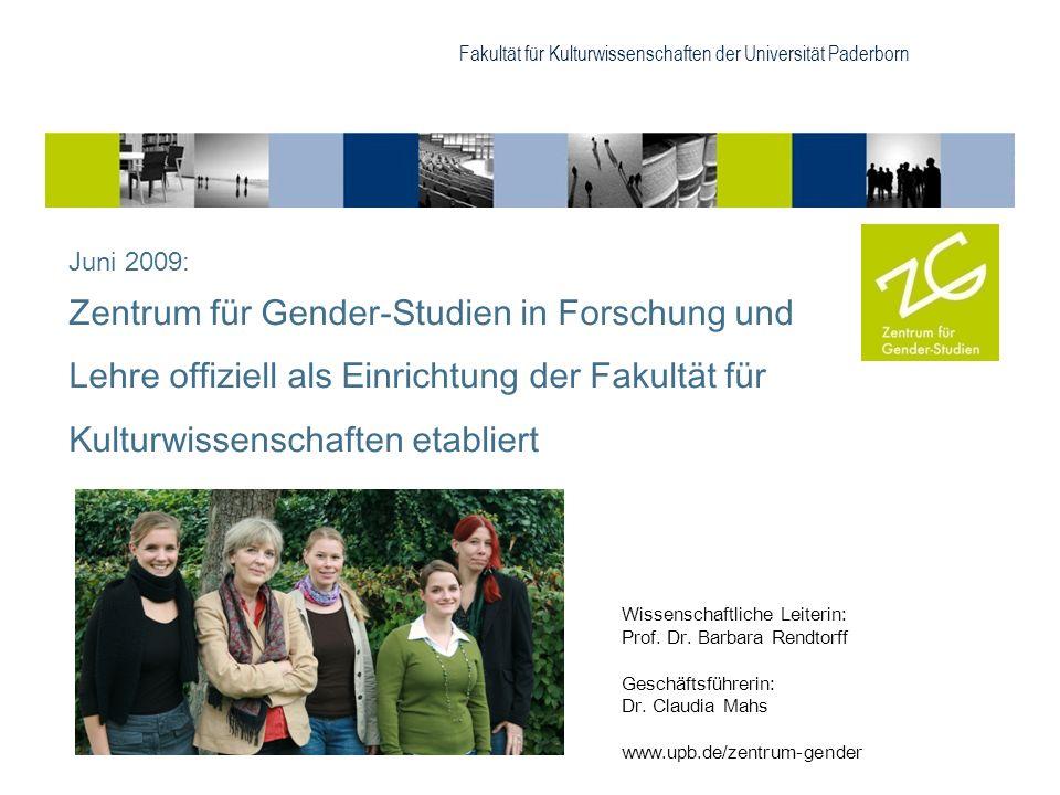 Fakultät für Kulturwissenschaften der Universität Paderborn