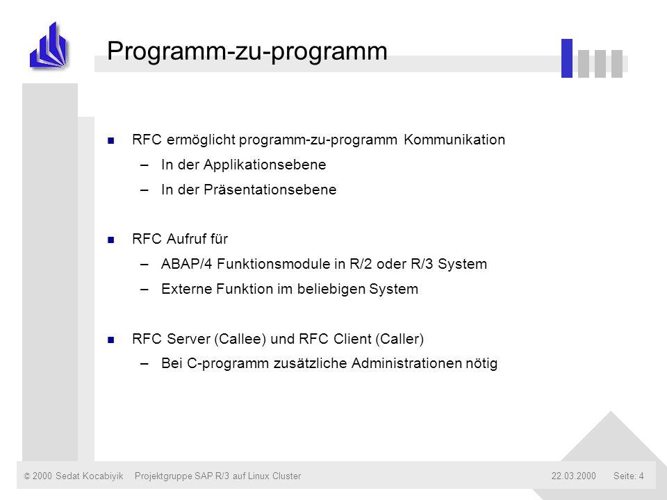 Programm-zu-programm