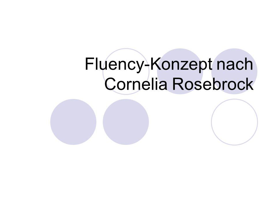 Fluency-Konzept nach Cornelia Rosebrock