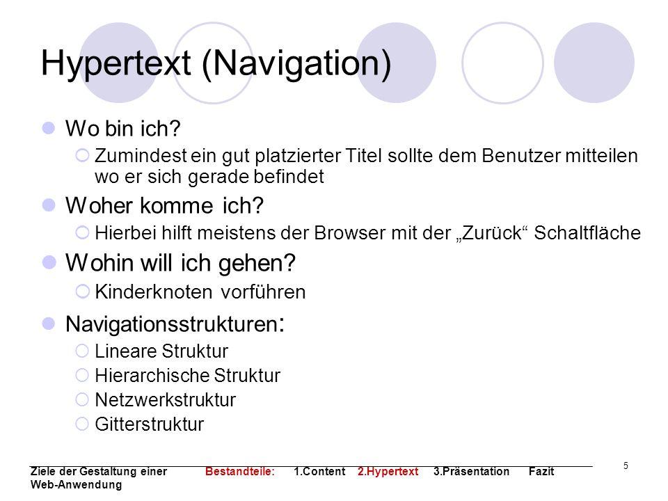 Hypertext (Navigation)