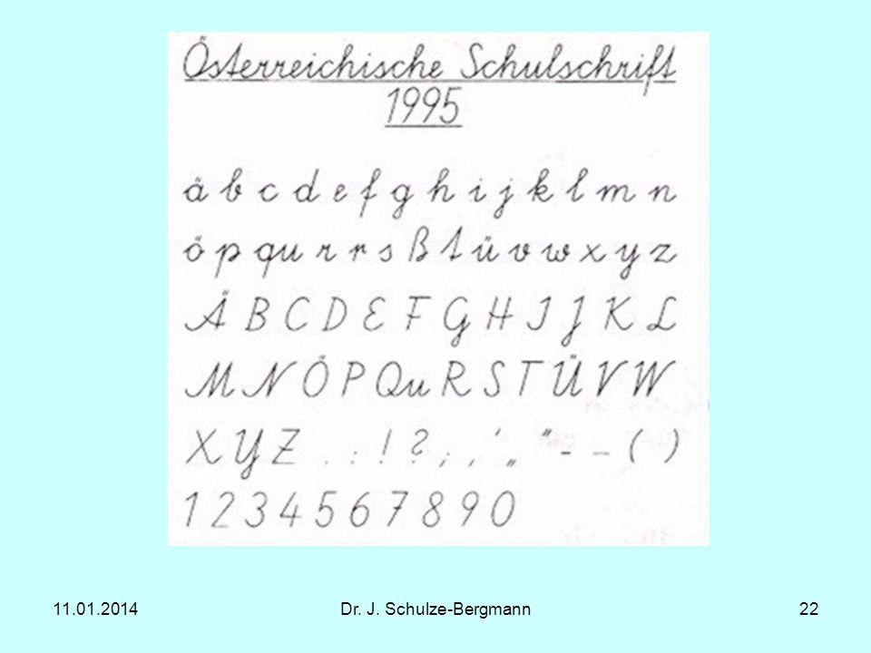 27.03.2017 Dr. J. Schulze-Bergmann