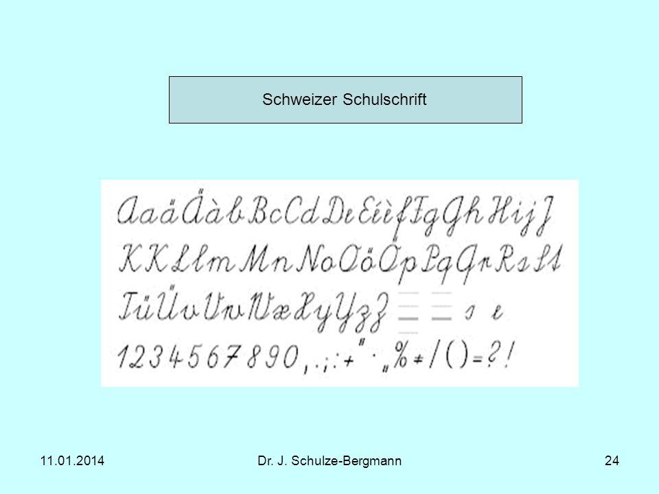 Schweizer Schulschrift