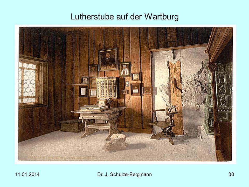 Lutherstube auf der Wartburg