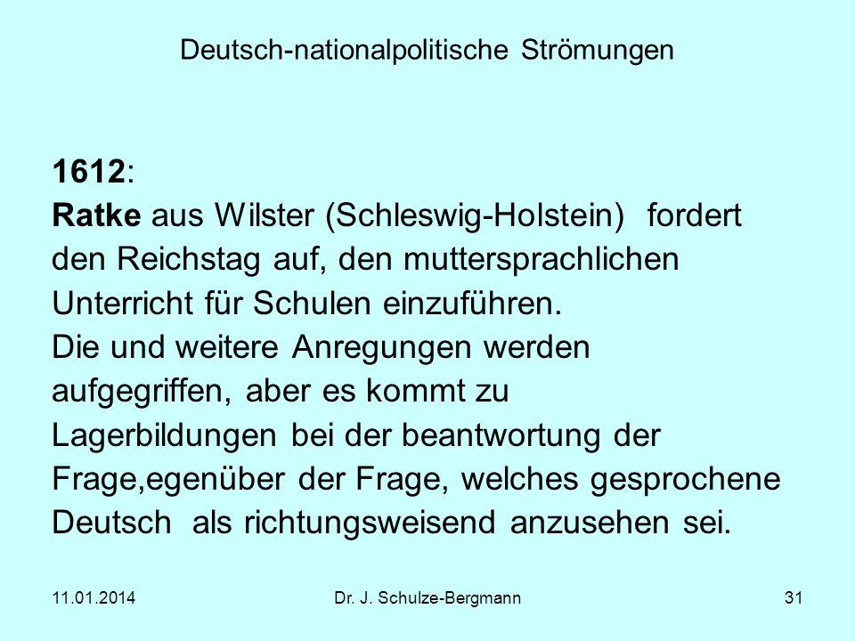 Deutsch-nationalpolitische Strömungen