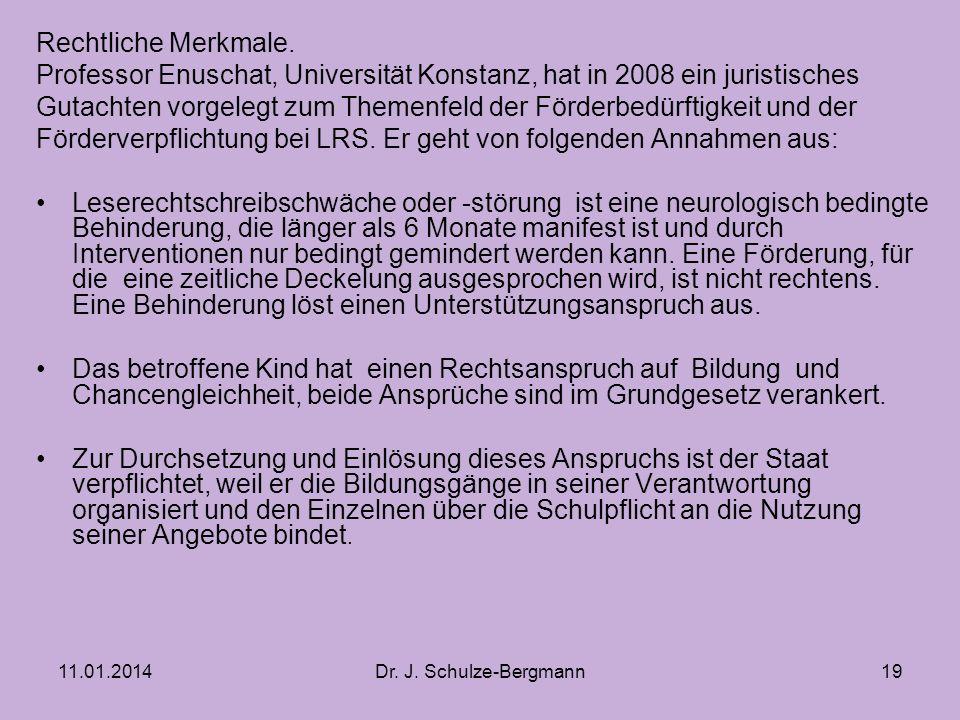 Professor Enuschat, Universität Konstanz, hat in 2008 ein juristisches