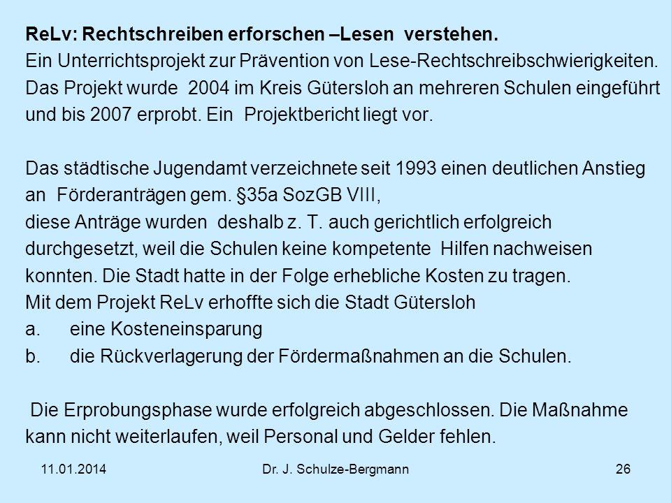 ReLv: Rechtschreiben erforschen –Lesen verstehen.