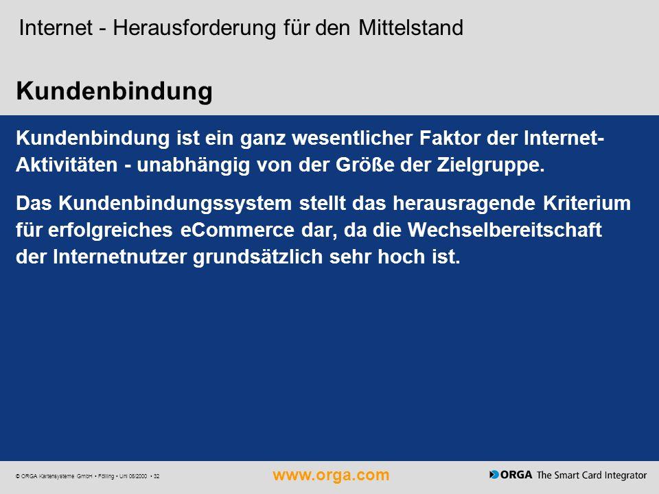 Kundenbindung Internet - Herausforderung für den Mittelstand