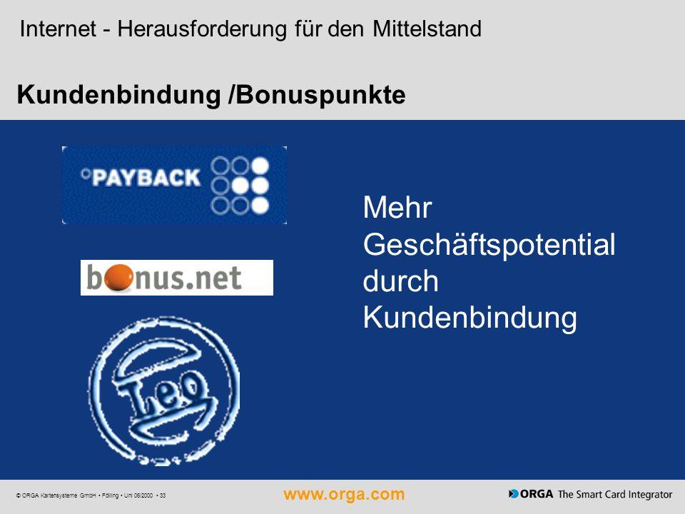 Kundenbindung /Bonuspunkte