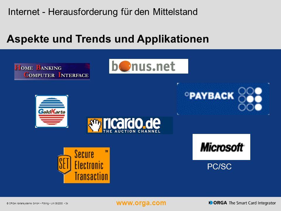 Aspekte und Trends und Applikationen