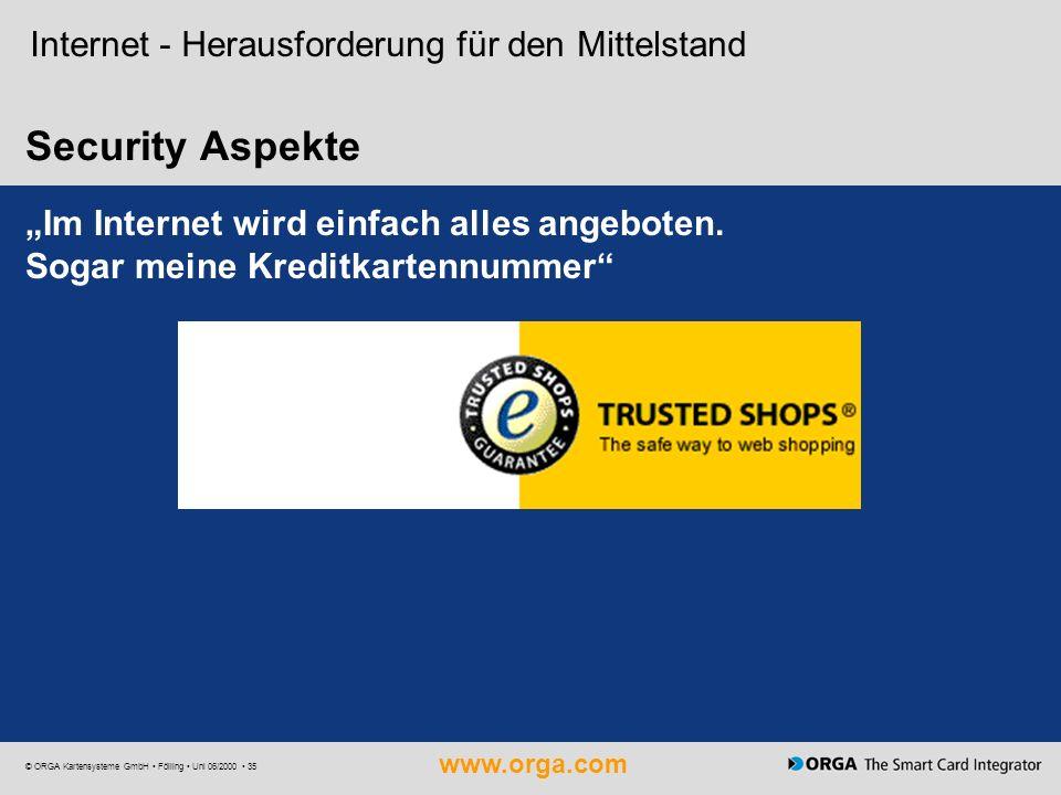 Security Aspekte Internet - Herausforderung für den Mittelstand