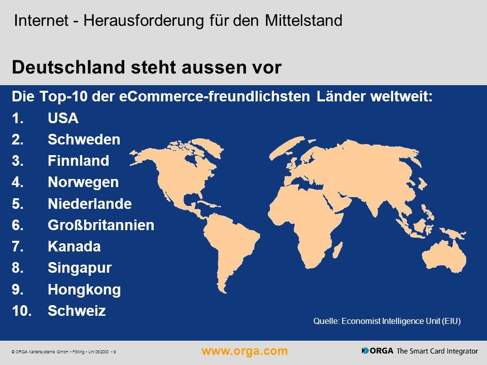 Deutschland steht aussen vor