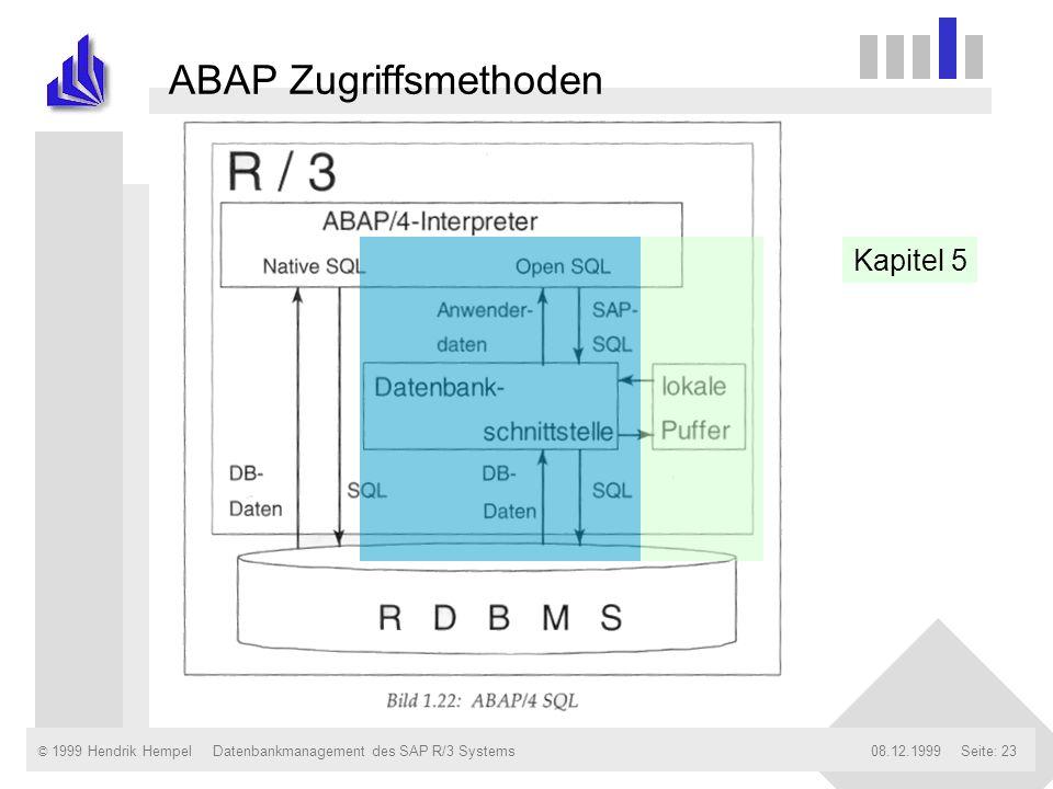 ABAP Zugriffsmethoden