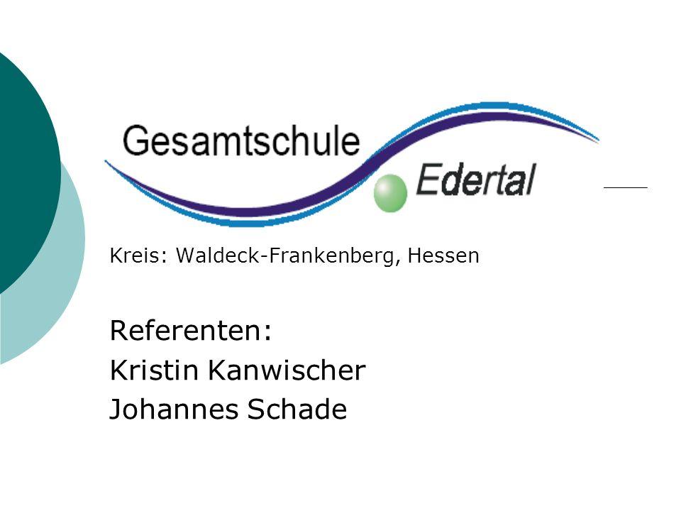 Referenten: Kristin Kanwischer Johannes Schade