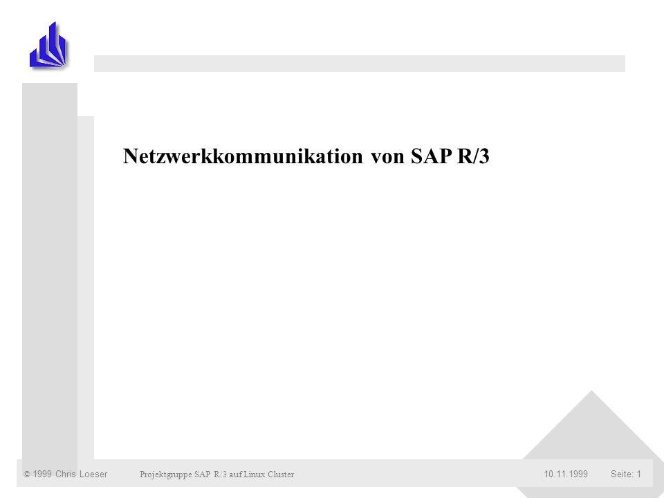 Netzwerkkommunikation von SAP R/3